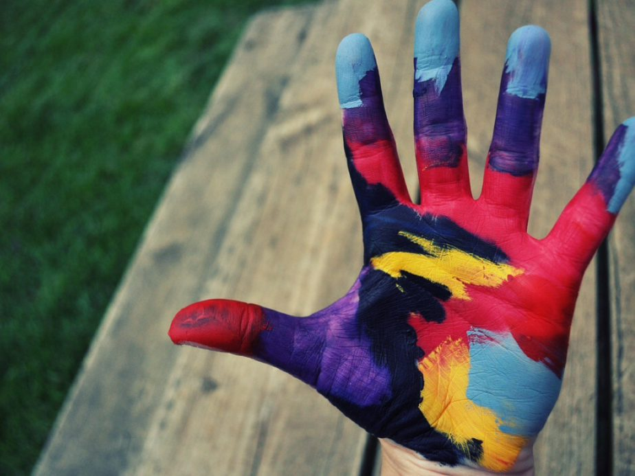 Painted Hand