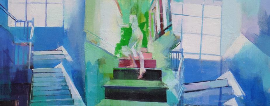 Oil On Panel, Lara Cantu-Hertzler, 2015
